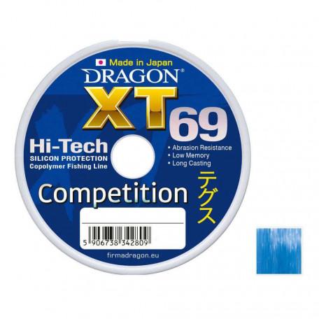 Леска Dragon XT69 Hi-Tech Competition 125м 0.16мм 3.85кг
