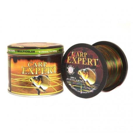 Леска Carp Expert Multicolor 1000м 0.25мм 8.60кг
