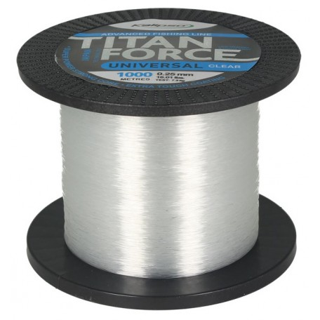 Леска Kalipso Titan Force Universal CL 1000м 0.25мм