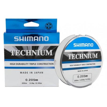 Леска Shimano Technium 200м 0.165мм
