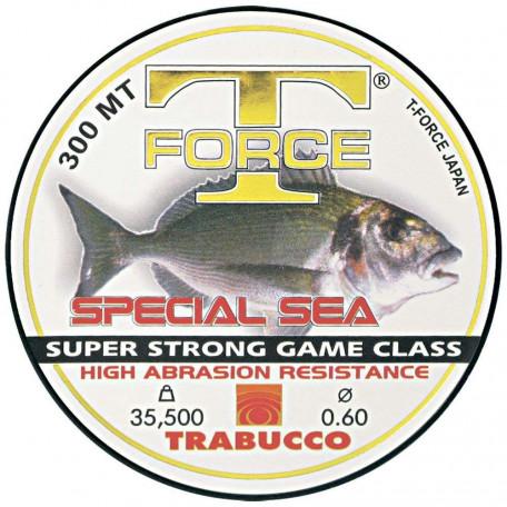 Леска Trabucco T-FORCE Special Sea 300м 0.80мм 41.7кг