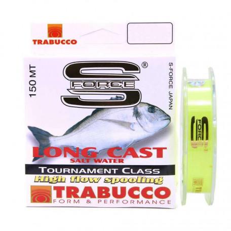 Леска Trabucco S-FORCE LONG CAST 150м 0.22мм 6.95кг