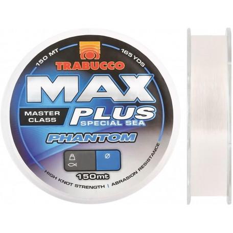Леска Trabucco MAX PLUS PHANTOM 150м 0.18мм 3.20кг