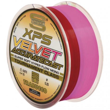 Леска Trabucco S-FORCE XPS Velvet Accurate Cast 300м 0.25мм 6.67кг