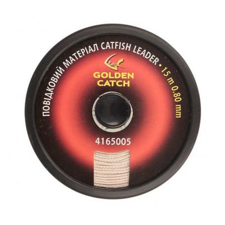 Поводочный материал GC Catfish Leader 15м 0.80мм