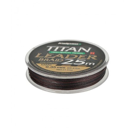 Шнур Kalipso Titan Leader Braid Camo 25м 0.12мм 7.5кг