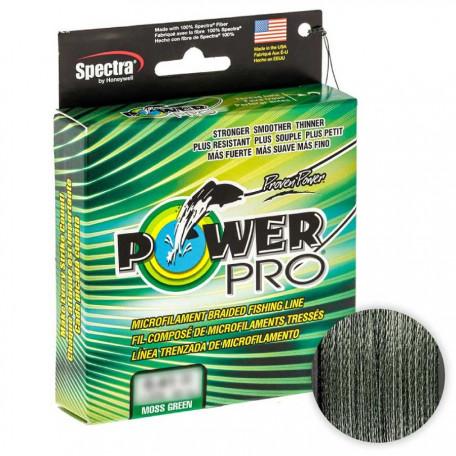 Шнур Power Pro 135m Moss Green 0.23mm 33lb/15kg