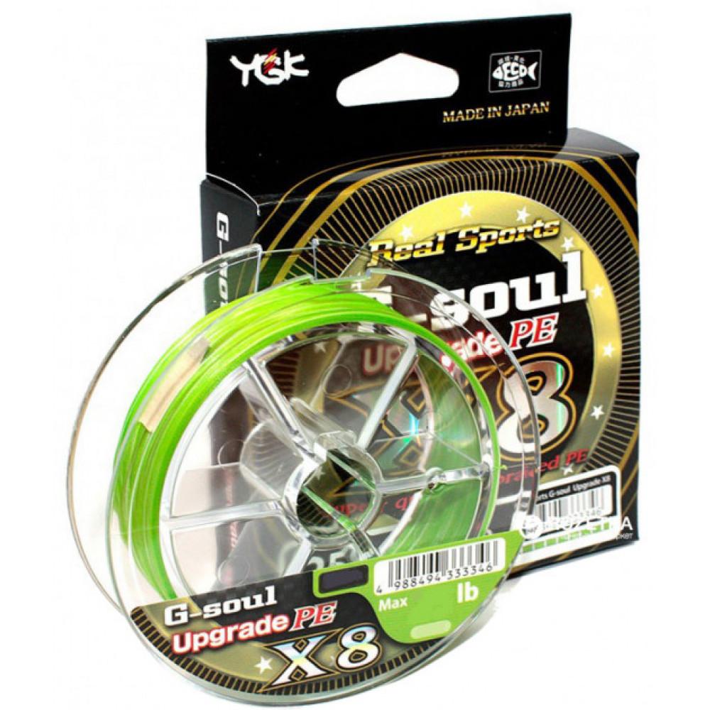 Шнур YGK G-Soul Upgrade X8 150м PE1.5 30lb