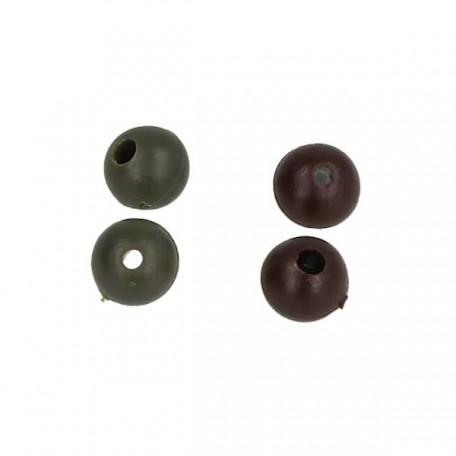 Бусинка Golden Catch Shock Beads Rubber Round 6мм (20шт) Green