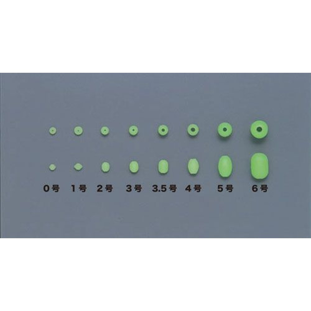 Бусинка Toho Light Soft 8H Green №3.5 (18шт)