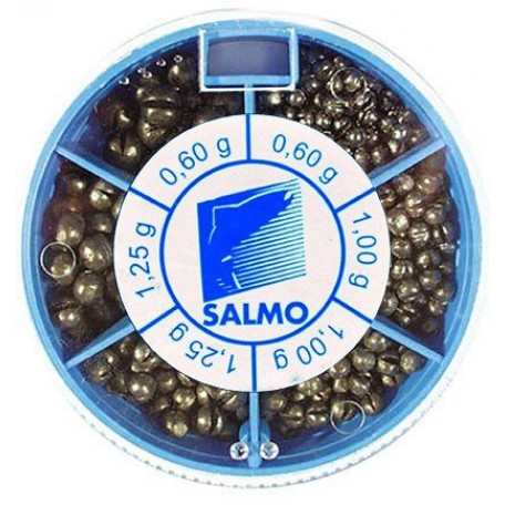 Набор грузил Salmo KP50 (50г уп.)