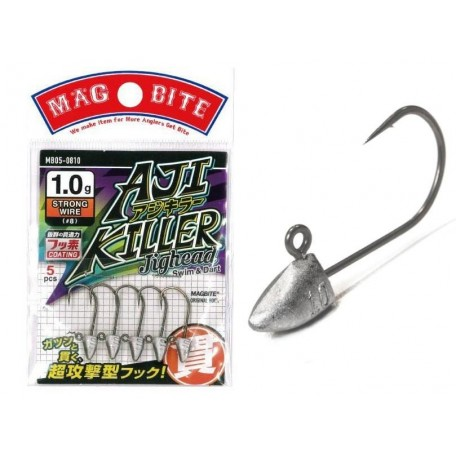 Джиг-головка Magbite Aji Killer №8 1.5г (5шт)
