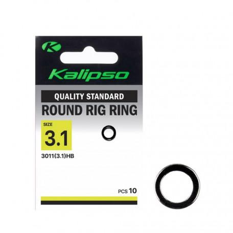 Кольцо Kalipso Round Rig Ring 3011 Ø-3.1мм (10 шт.)