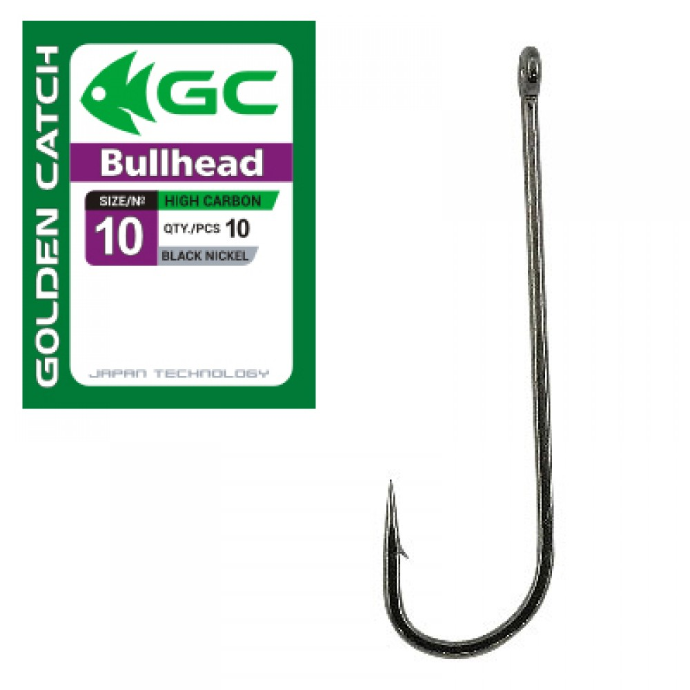 Крючок Golden Catch Bullhead №1 (10шт.)