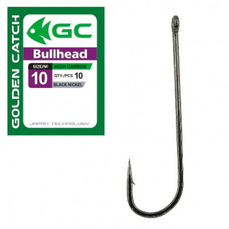 Крючок Golden Catch Bullhead №10 (10шт.)