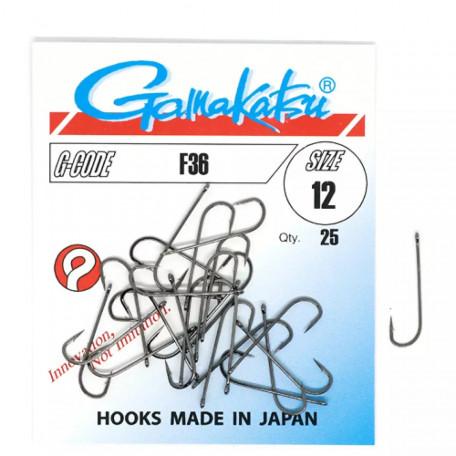 Крючок Gamakatsu F36 №12 (25 шт.)