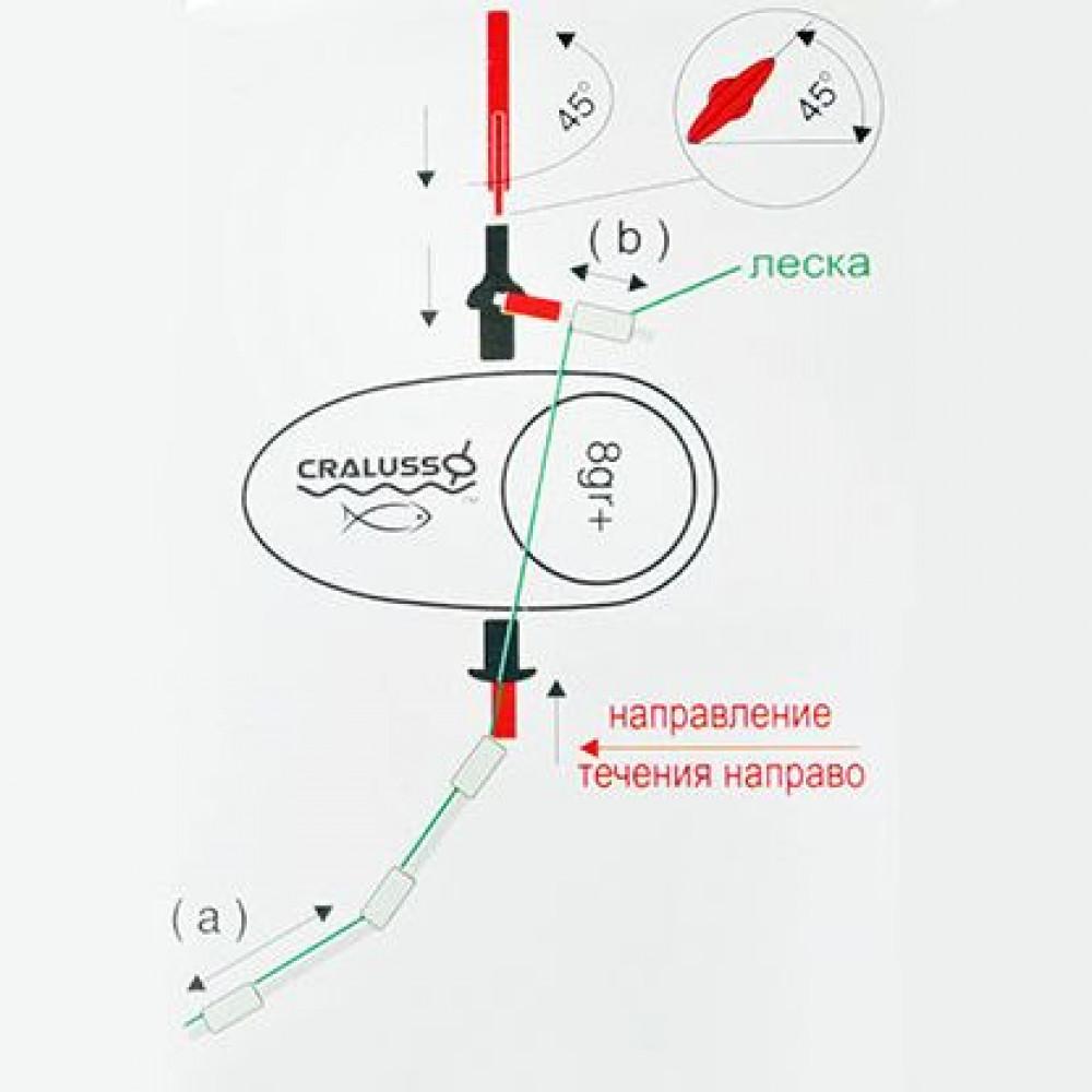 Поплавок Cralusso Surf (1002) 3г
