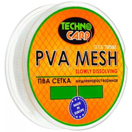 PVA-сетка Технокарп медленнорастворимая 15мм, 10м