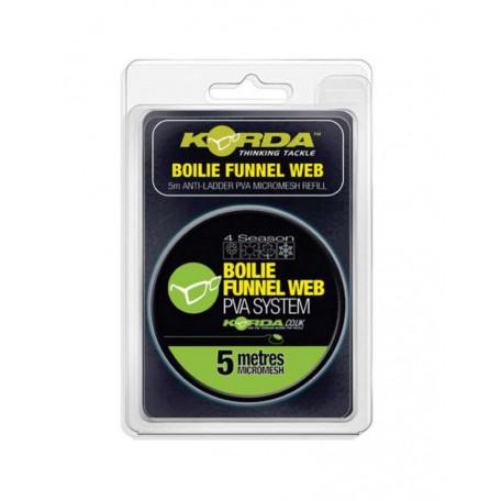 ПВА-туннель на шпуле Korda Boilie Funnel Web Hexmesh 5м