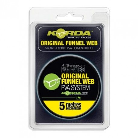 ПВА-туннель на шпуле Korda Original Funnel Web Hexmesh 5м