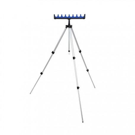 Телескопическая тренога на 6 удилищ Flagman (110 см)