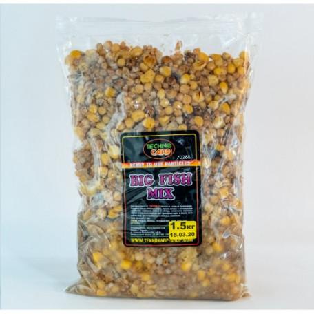 Зерновая смесь ТехноКарп Big fish mix (1.5кг)