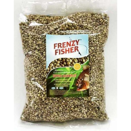 Зерна конопли Frenzy Fisher цельные, 500г