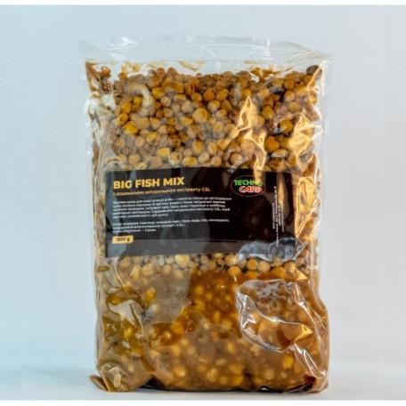 Зерновая смесь ТехноКарп Big fish mix + CSL (1.5кг)