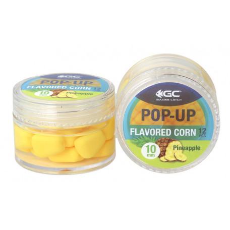 Кукуруза в дипе GC Pop-Up Flavored 10мм Pineapple (ананас) 12 шт.