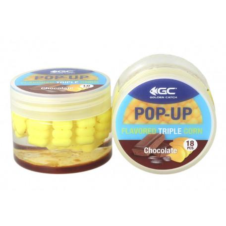 Кукуруза в дипе GC Pop-Up Triple Flavored Chocolate (шоколад) 18 шт.