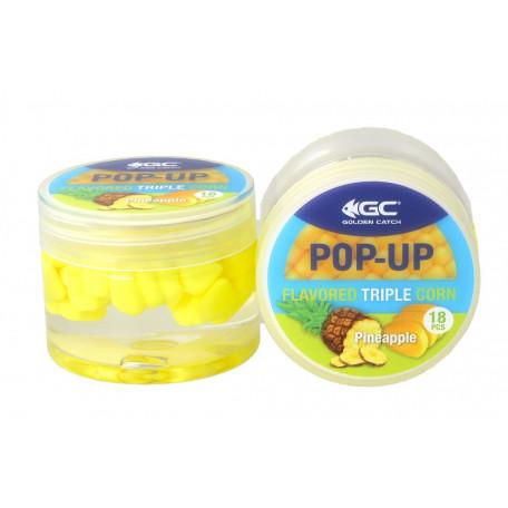 Кукуруза в дипе GC Pop-Up Triple Flavored Pineapple (ананас) 18 шт.