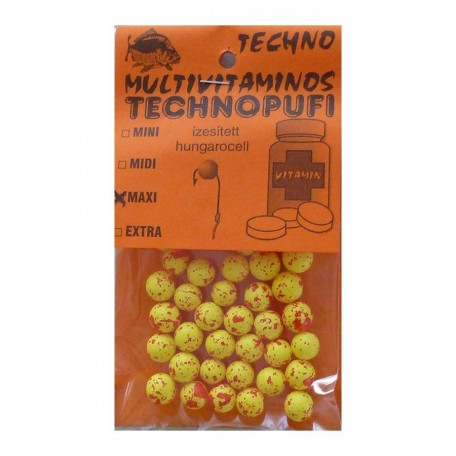Плавающая насадка TechnoPufi Mini Multivitaminos (мультивитамин)