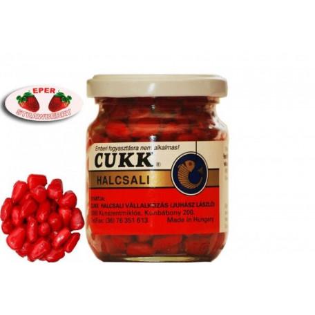 Крашеная кукуруза Cukk Strawberry (клубника) 125г
