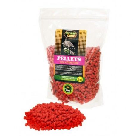 """Пеллетс TechnoCarp Flavored carp pellets """"B.O.M.G"""" 6mm 1.0kg"""