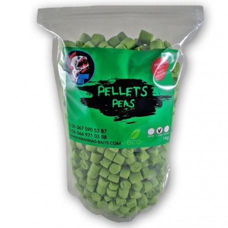 Пеллетс Piranhas Baits Peas 12mm 1kg