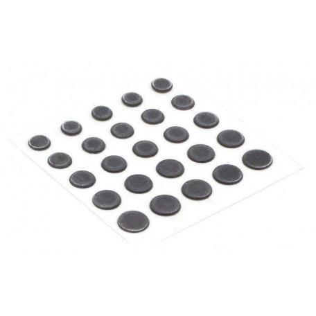 Свинцовые наклейки Power Dots Strike Pro black L