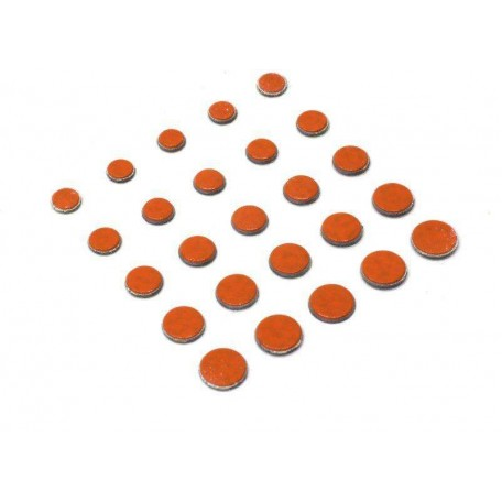Свинцовые наклейки Power Dots Strike Pro orange M