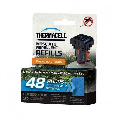 Запасные картриджи Thermacell M-48 Repellent Refills Backpacker (12 шт.)
