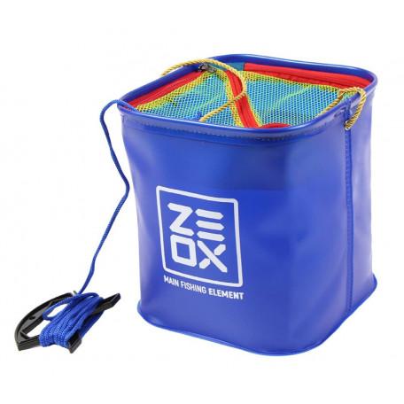 Ведро Zeox Bucket With Rope and Mesh с веревкой и сеткой ↕20см 8л