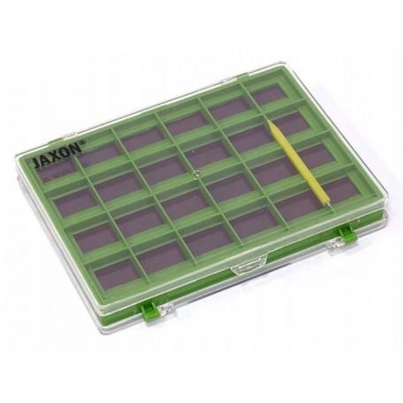 Коробка Jaxon двухсторонняя магнитная RH-160 15×11×2см
