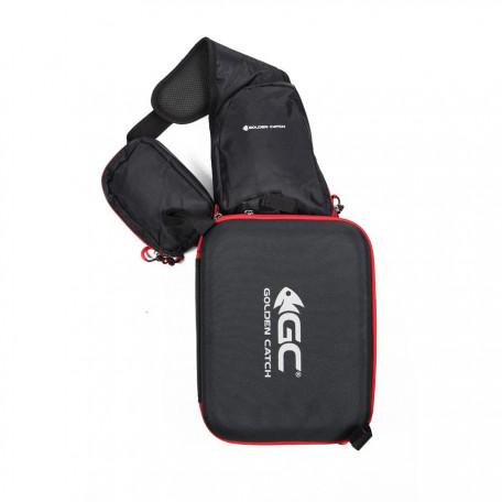 Сумка спиннингиста заплечная GC Sling Bag 34×24×12см