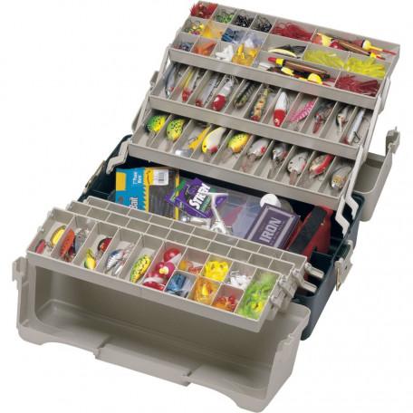 Ящик PLANO 9606-02 Six Tray Hip Roof Tackle Box 6-полочный 52.1×32.2×26.8см