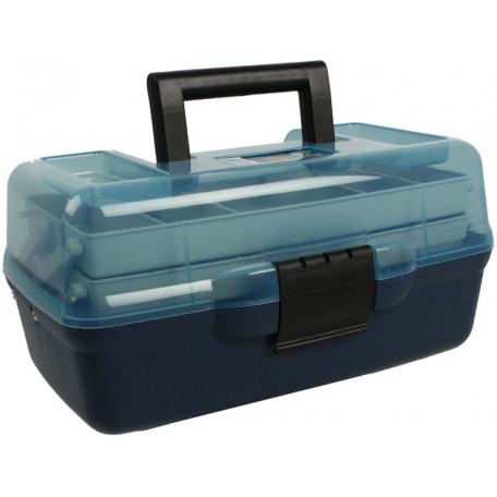 Ящик Aquatech 2-х полочный 1702Т с прозрачной крышкой