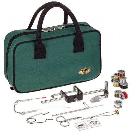 Набор Lineaeffe для вязания мушек Fly Tying Kit in Case