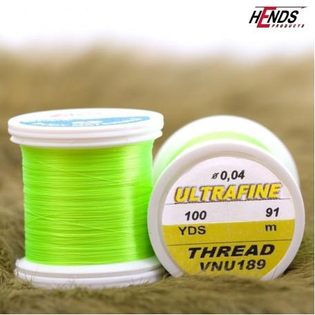 Монтажная нить HENDS Ultrafine Thread 12/0 - Chartreuse (салатовый)
