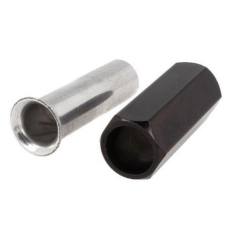Ступка для выравнивания меха Aluminium Hair Stacker Large