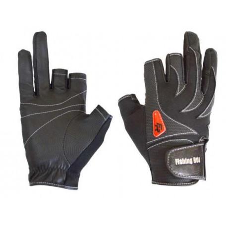 Перчатка спиннингиста Fishing ROI WK-05 black XL (c 2 пальц.) (M301)