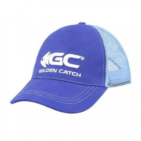 Кепка Golden Catch синяя с сеткой
