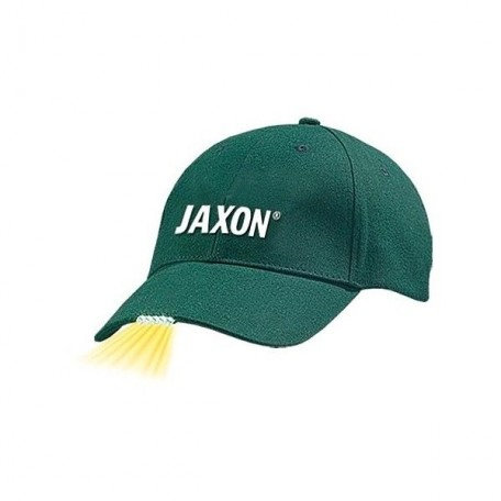 Бейсболка Jaxon UJ-CZX01C с фонариком зеленая