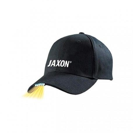 Бейсболка Jaxon UJ-CZX01A с фонариком черная